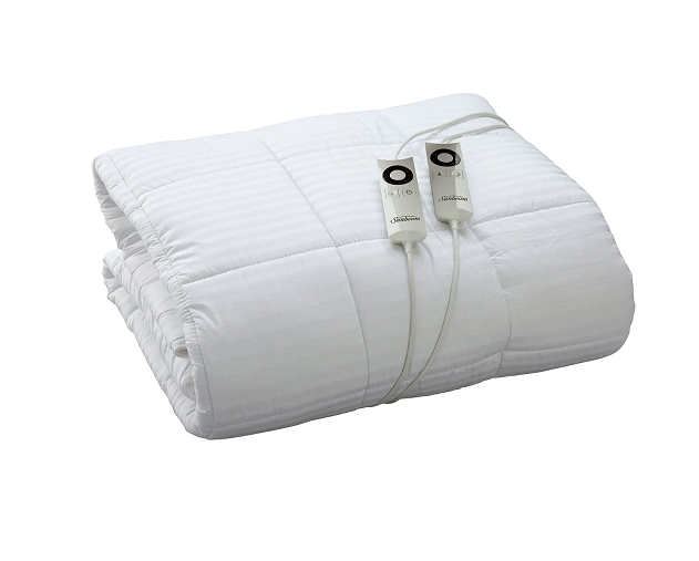 Sunbeam Quilted Heated Blanket
