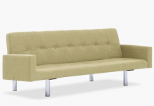Amelia Polyester Sofa Bed with Armrest