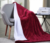 Washable Heated Electric Throw Rug Blanket